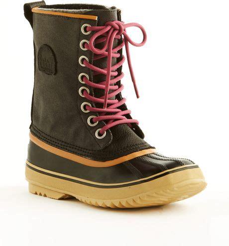 Snow Boots Martin Boots Korean Factory Outlets Waterproof Ladiess sorel premium cvs boots in black waterproof lyst