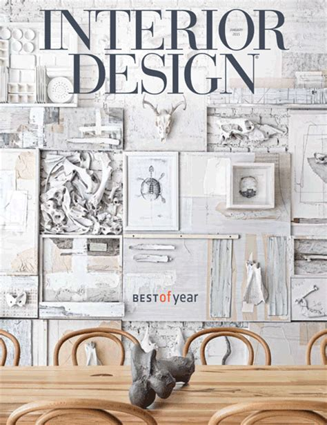 Interior Design Editorial Calendar 2015 | interior design january 2015 interior design