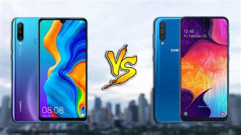 Huawei 4 Vs Samsung Galaxy A50 by Huawei P30 Lite Vs Samsung Galaxy A50 Specs Comparison Noypigeeks