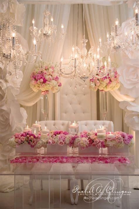lavish details blush fuschia weddings pinterest