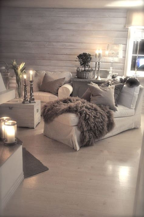 cosy room grey and white interior design