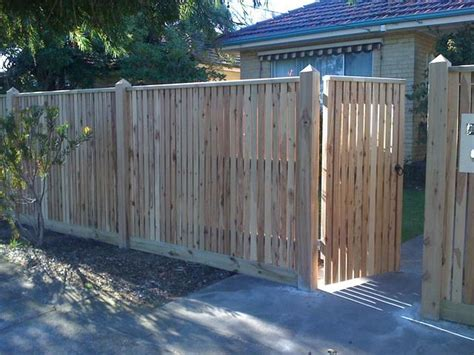style ideas fences timber fencing jnd timber steel australia hipages com au