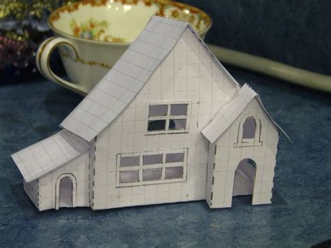 How To Make A Small Paper House - new putz house patterns by christmasnotebook tiny