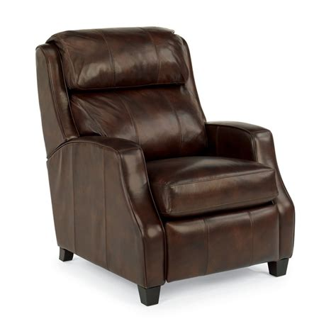 leather recliners cheap flexsteel 1103 50 pirouette leather high leg recliner