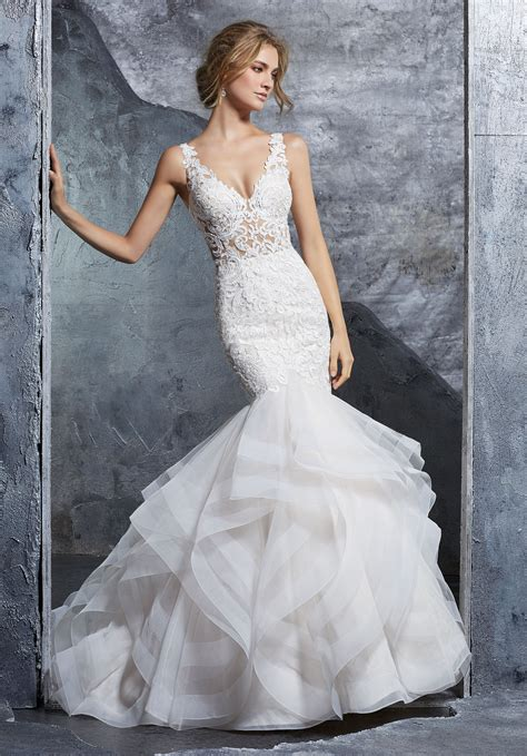 Bridal Dresses - wedding dress style 8224 morilee