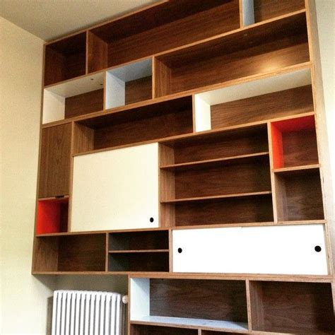 25 best ideas about plywood bookcase on
