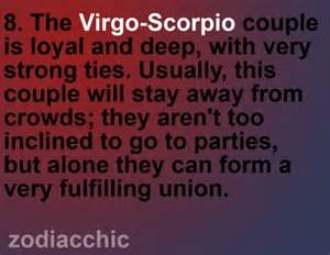 virgo and scorpio by zodiac mariposa pinterest