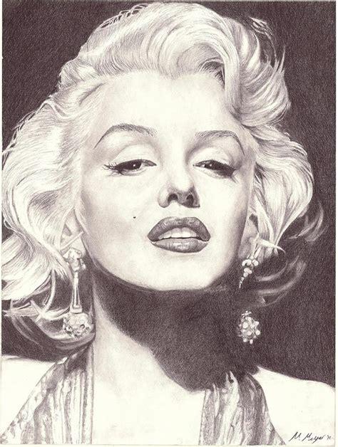 marilyn monroe zeichnung marilyn monroe portrait drawing drawing by matt meyer