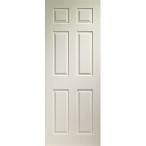6 Paneled Painted Grained Interior Door Interior Doors