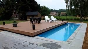 piscine autoportante bois piscine terrasse