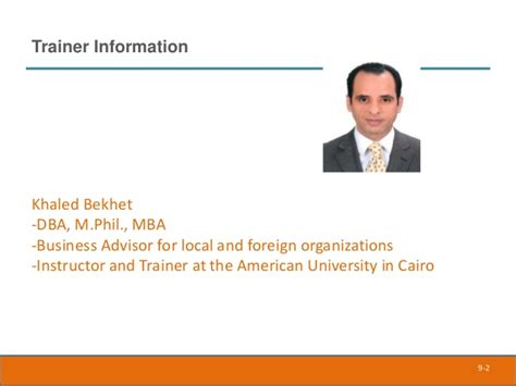 Mba Dba Cairo by Empowerment And Delegation K Bekhet