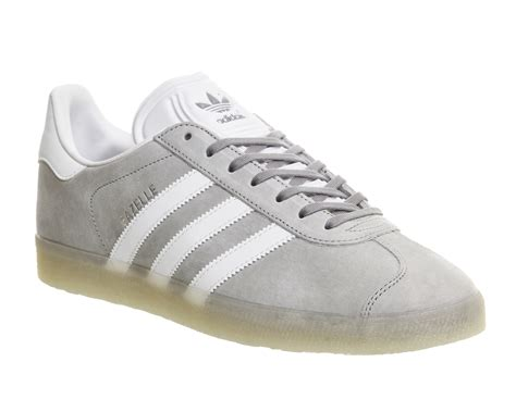 Adidas Grey buy mid grey white adidas gazelle from office co uk