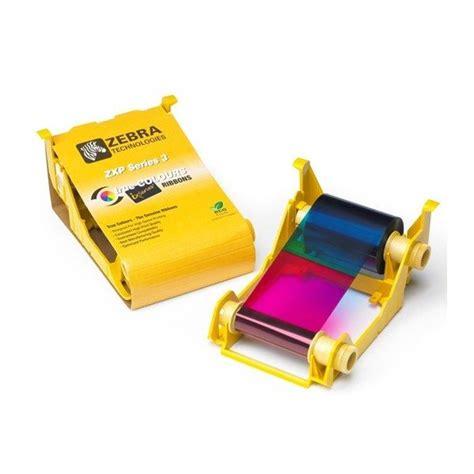 Ribbon Black Printer Zebra Zxp3 Ribbon Zxp3 Part Number 800033 801 zebra zxp3 color ribbon