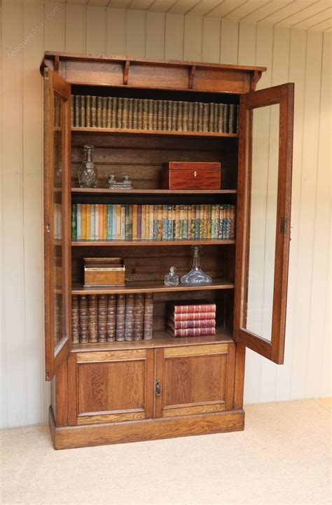 bookcase display arts and crafts oak c1900 antiques atlas arts and crafts oak bookcase antiques atlas