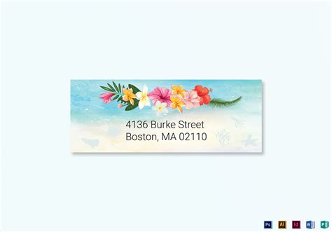 card address labels template wedding address labels card template in psd word