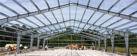Prefabricated Roof Trusses metal frame systems varco pruden buildings