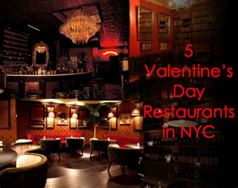 valentines in nyc s day date restaurants in nyc