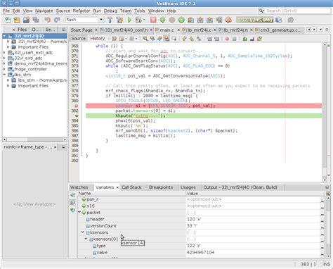 netbeans tutorial debugger using netbeans for stm32 development with stlink texane