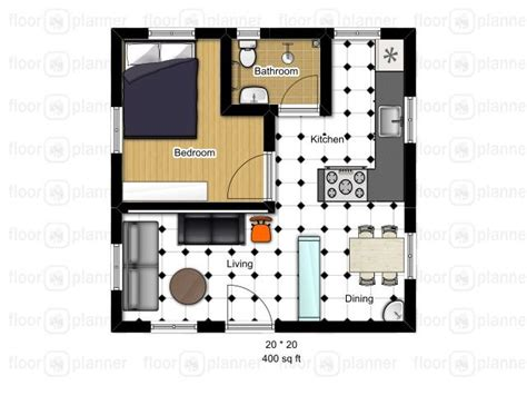 studio floor plans 400 sq ft 1000 ideas about small basement apartments on