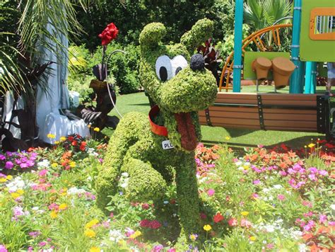 Epcot International Flower And Garden Festival Walt International Flower And Garden Festival