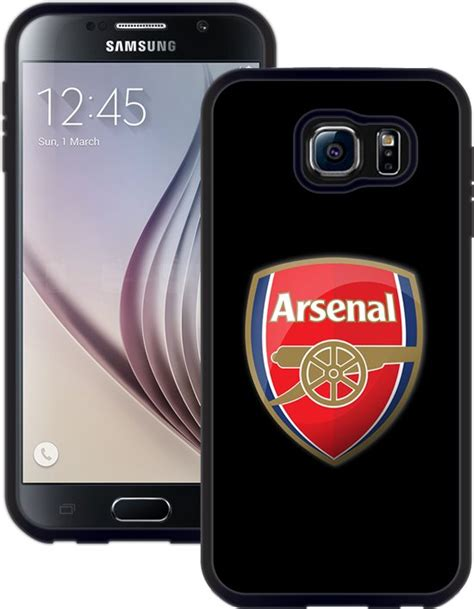 Arsenal Samsung Galaxy bol arsenal handmade samsung galaxy s6 zwart