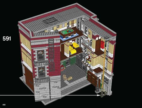 Lego Ghostbusters House by Lego Ghostbusters Firehouse Hq 75827 Building Available For Finally 420