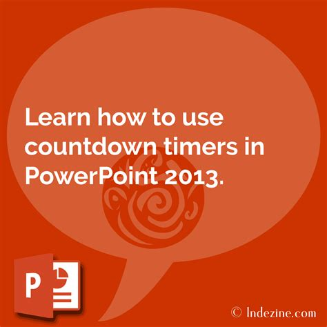 powerpoint countdown tutorial slides with countdown timers in powerpoint 2013