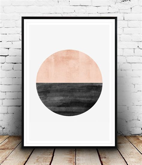 modern minimalist artist minimalist print abstract watercolor art geometric art
