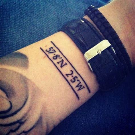 tattoo coordinates 18 stylish coordinate wrist tattoos