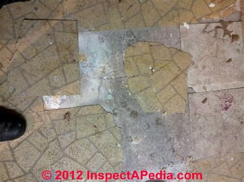 asbestos tile asbestos asbestos floor tile identification