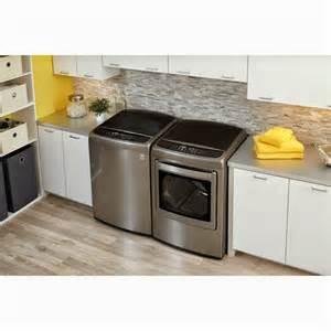 Lg Washer Dryer Pedestal Graphite Steel Lg Washer Dryer Lg Top Load Washer And Dryer