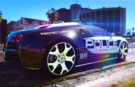 police bugatti bugatti veyron police gta5 mods com