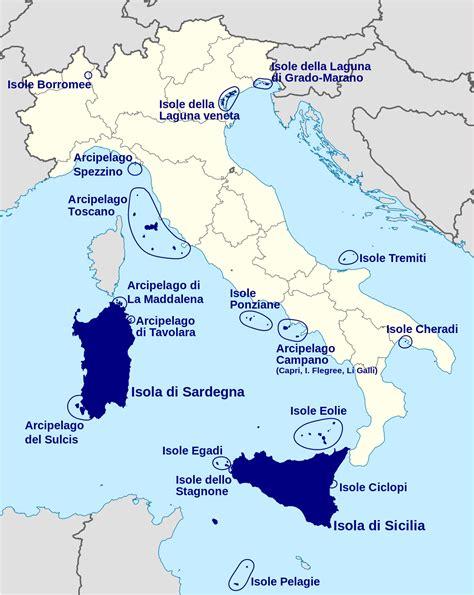 d italia wiki isole dell italia