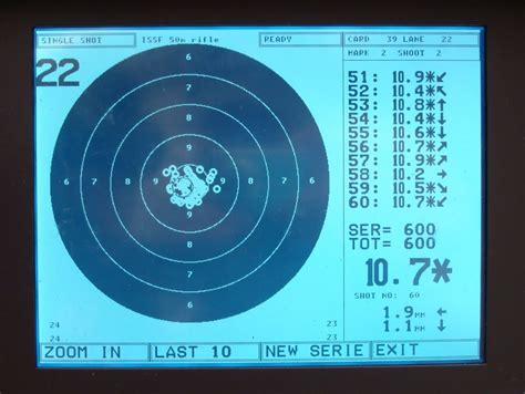Electronic Target Gift Card - targets used for smallbore shooting isle of wight target shooting association isle