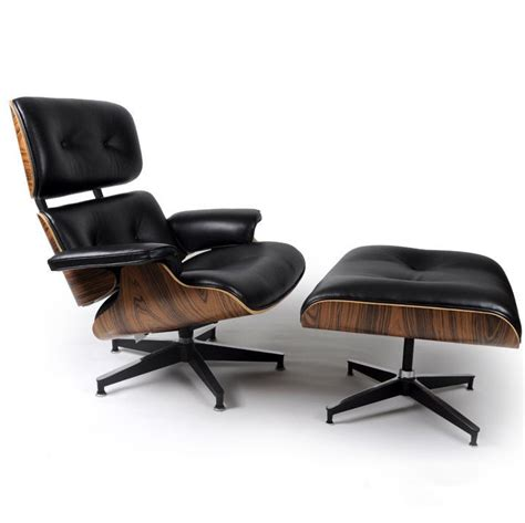 Eames Lounge Chair Palisander by Mod Lounge Chair Ottoman Black Palisander