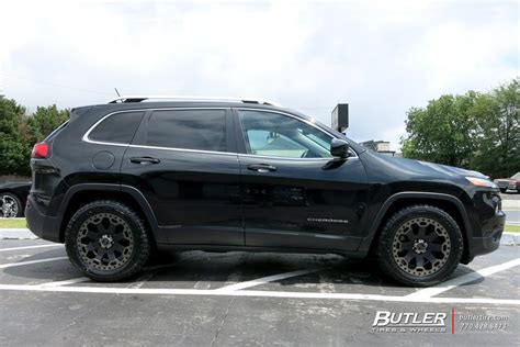 jeep cherokee rhino jeep cherokee with 18in black rhino warlord wheels