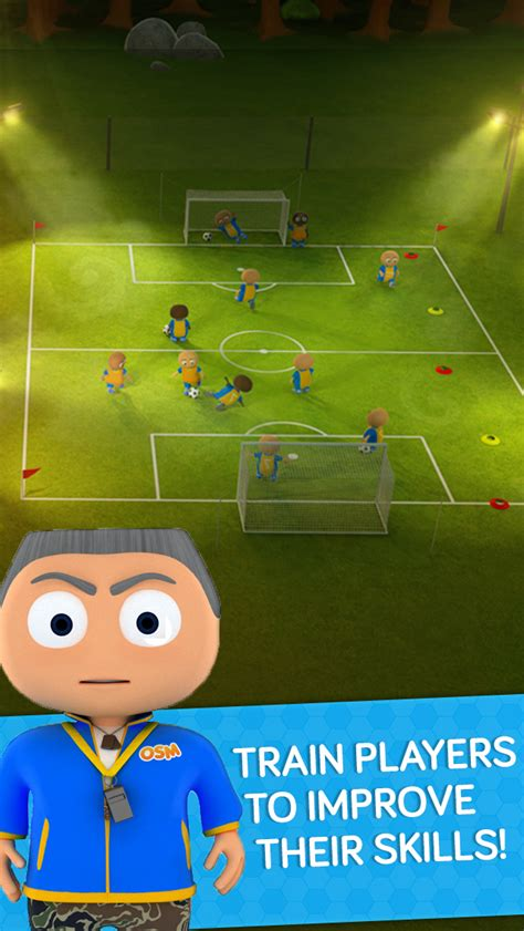 best app for soccer soccer manager osm and coach your