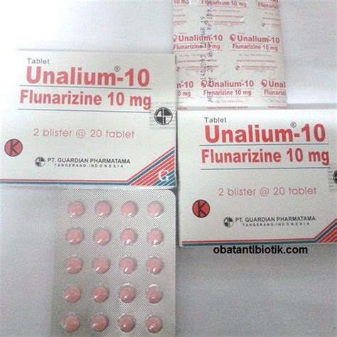 Obat Flunarizine 5 macam obat vertigo di apotik yang uh dan berkhasiat