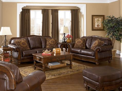 Living Room Paint Ideas With Brown Trim Leather And Wood House Woods Leather And
