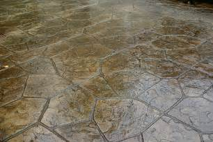 flagstone sted concrete patio natural with autumn bro