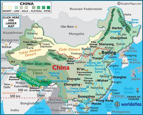 map china china large color map worldatlas