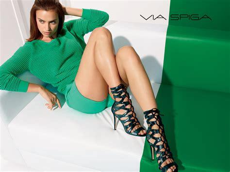 Irina Omiles via spiga debuts fall 2014 advertisting caign featuring