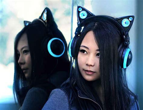 Headphone Axent Wear axent wear cat ear headphones 187 gadget flow