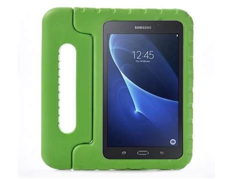 Samsung Tab A 2016 7 T280 T285 Rugged Armor Casing Soft Tpu silicone with handle for samsung galaxy tab a 7 0 2016 sm t280 sm t285 icasie store