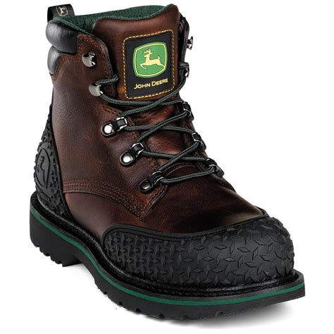 deere work boots for s deere 174 6 quot safety toe lace up boots 165390