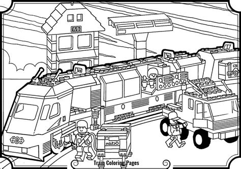 lego train coloring pages top coloring lego train coloring