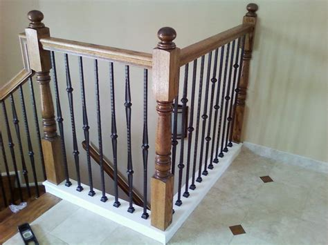 iron banister spindles iron balusters artistic ornamental iron of minneapolis mn