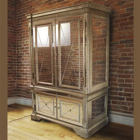 art deco armoire with mirror antique mirror armoire cabinet tvs antiques and art deco