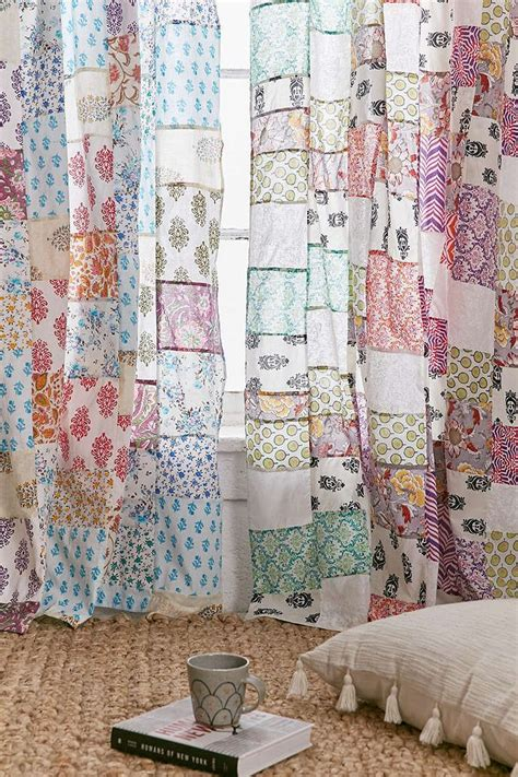 magical thinking curtains 1000 ideas about patchwork curtains on pinterest beaded