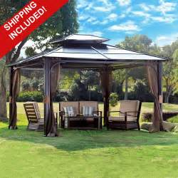 Steel Top Gazebo by Hardtop Gazebos Best 2017 Choices Sorted By Size